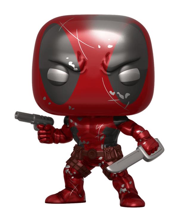 Marvel: 80th - Deadpool (Metallic/First Appearance) Pop! Vinyl Figure