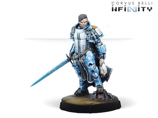 Infinity: Padre-Inquisidor Mendoza, Pre-order exclusive miniature