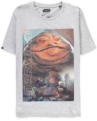 Star Wars: Jabba The Hutt - T-Shirt (Size - L)