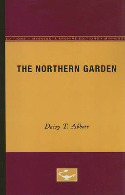 The Northern Garden by Daisy T Abbott image