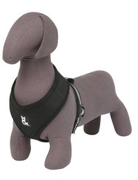 Rufus and Coco Mesh Dog Harness Medium - Black