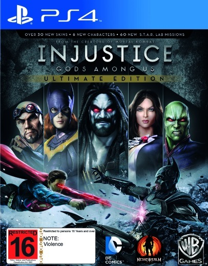 Injustice: Gods Among Us Ultimate Edition for PS4