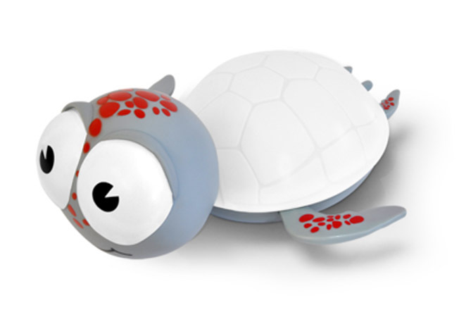 BabyZoo Kids Timer Night Light - White Turtle image