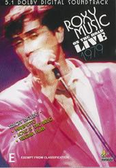Roxy Music - On The Road Live on DVD