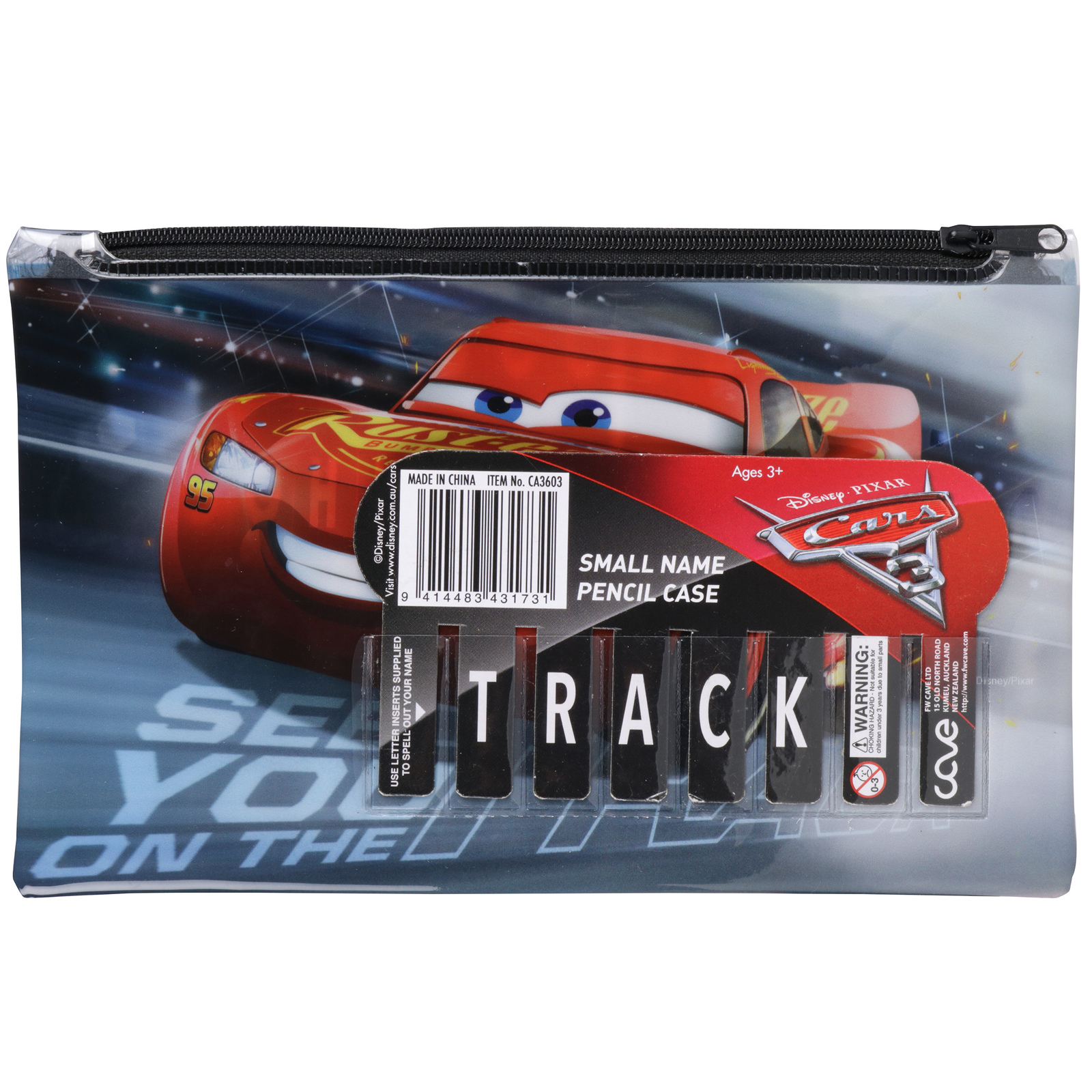 Disney Cars 3 Small Name Pencil Case image