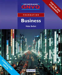 Foundation GNVQ Business Student Book without Options by Hala Seliet image