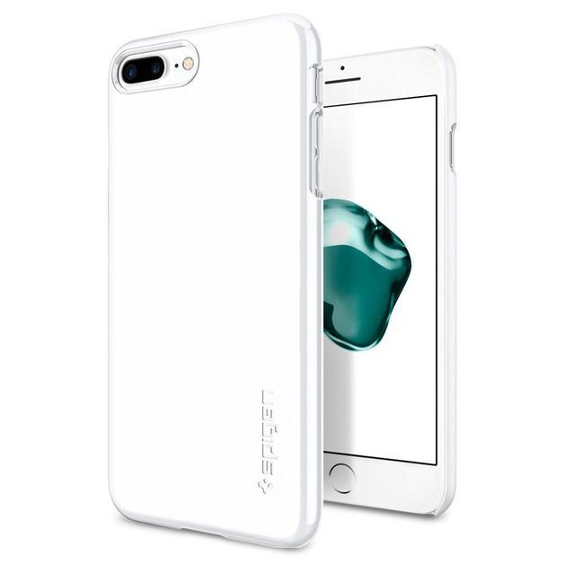 Spigen: iPhone 7 Plus - Thin Fit Case (Jet White)