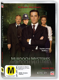 Murdoch Mysteries - Season Two (4 Disc Set) on DVD image