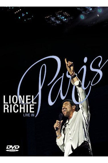 Lionel Richie - Live In Paris on DVD image