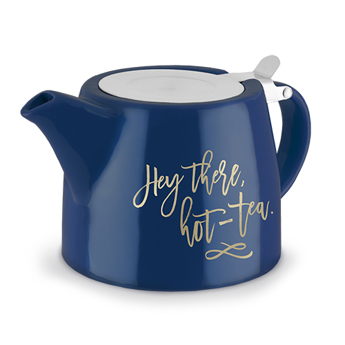 Pinky Up: Harper Ceramic Teapot & Infuser (Hey There, Hot-Tea)