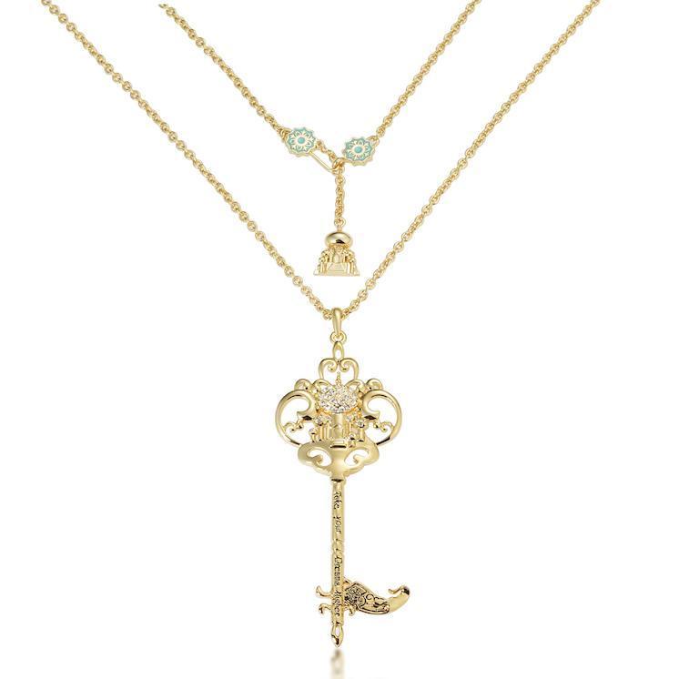 Couture Kingdom: Disney - Princess Jasmine Necklace (Yellow Gold) image