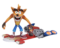 "Crash Bandicoot: Hoverboard Crash - 7"" Deluxe Action Figure"