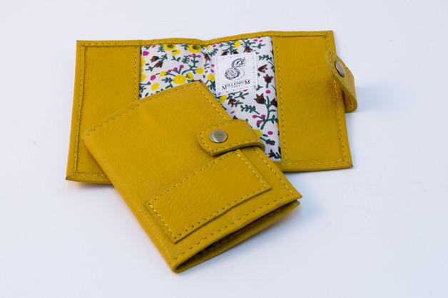 Millenium Paris: Colette Card Holder - Yellow