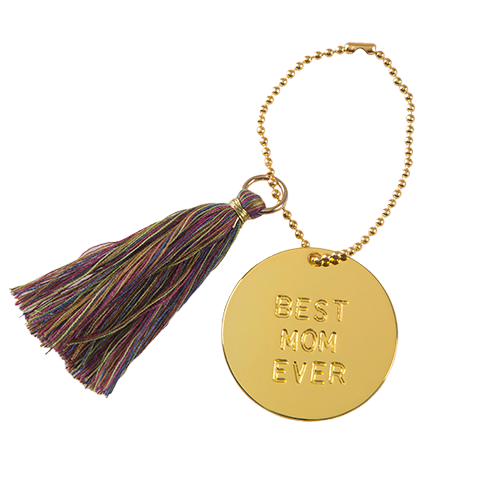 Natural Life: Best Ever Keychain - Mom