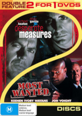 Desperate Measures / Most Wanted - Double Feature (2 Disc Set) on DVD