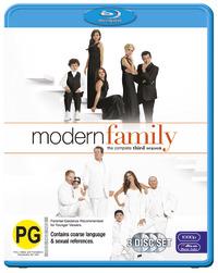 Modern Family - The Complete Third Season on Blu-ray