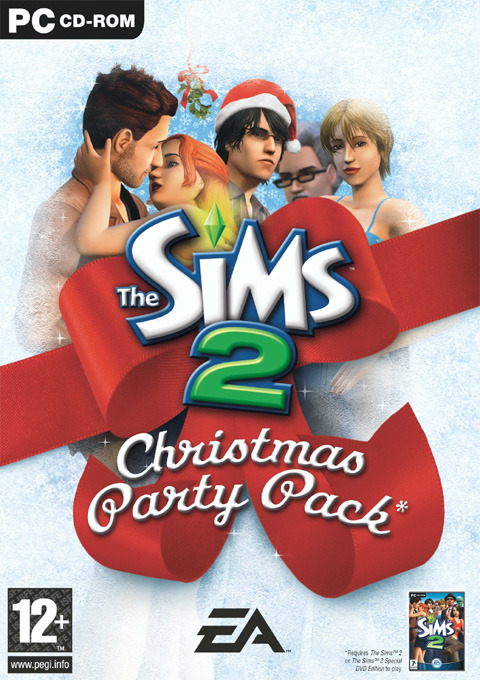The Sims 2 Holiday Party Pack for PC