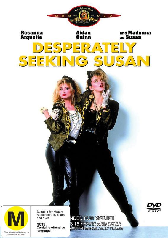 Desperately Seeking Susan on DVD