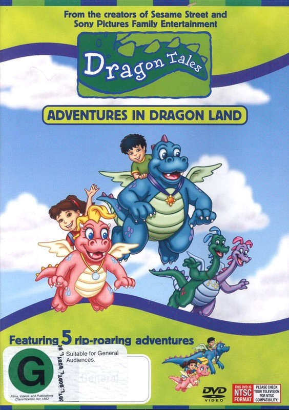 Dragon Tales - Adventures In Dragon Land on DVD