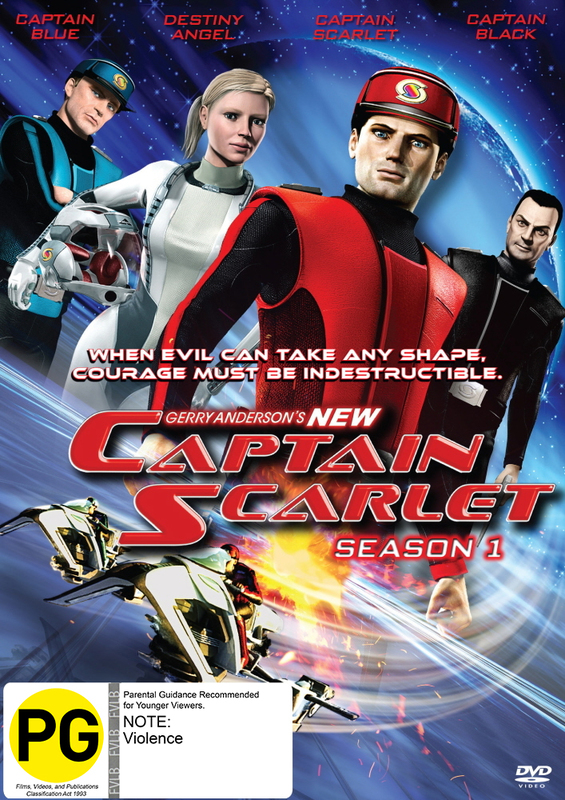 Captain Scarlet - Season 1 on DVD