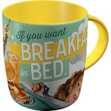 Say it 50's Mug - Breakfast in Bed