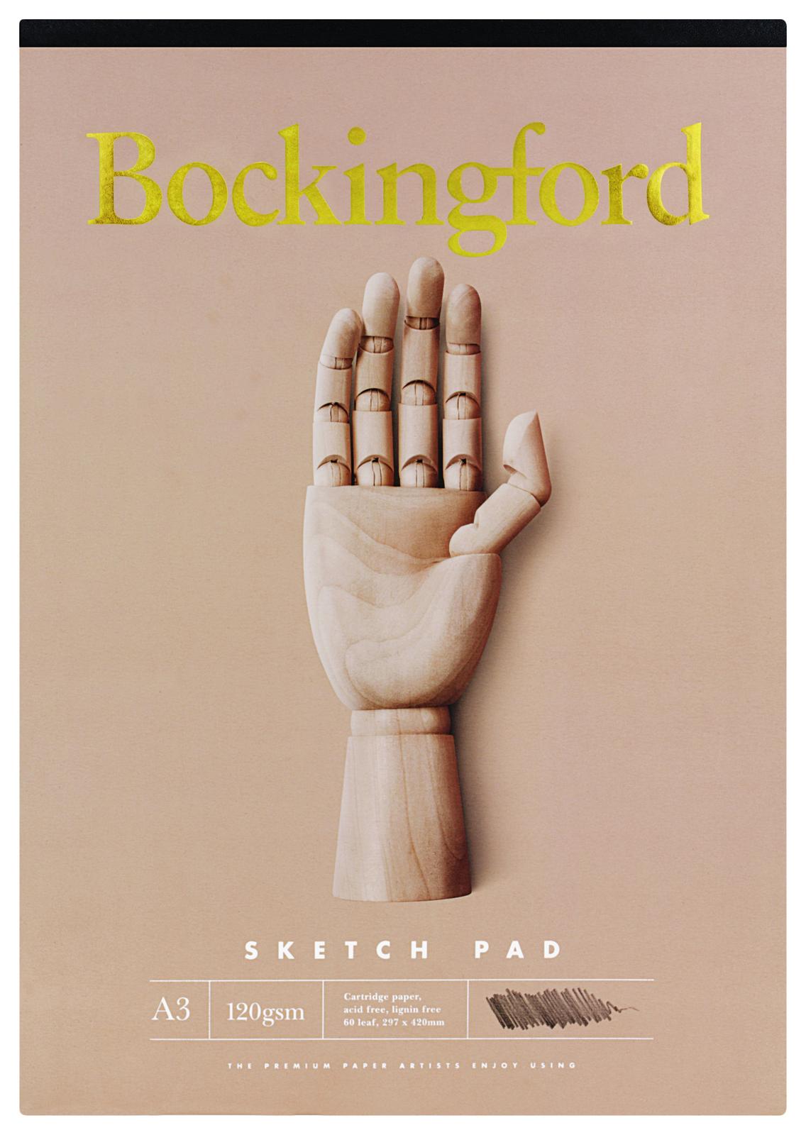 Bockingford A3 B21 60lf 120gsm Sketch Pad image