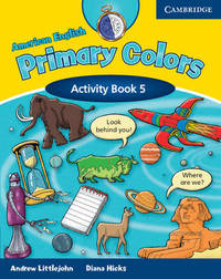 American English Primary Colors 5 Activity Book: Level 5: Activity Book by Diana Hicks