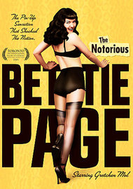 The Notorious Bettie Page on DVD image