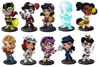 DC Comics - Lil' Bombshells Mini Figures - Series 2.5 (Blindbox)
