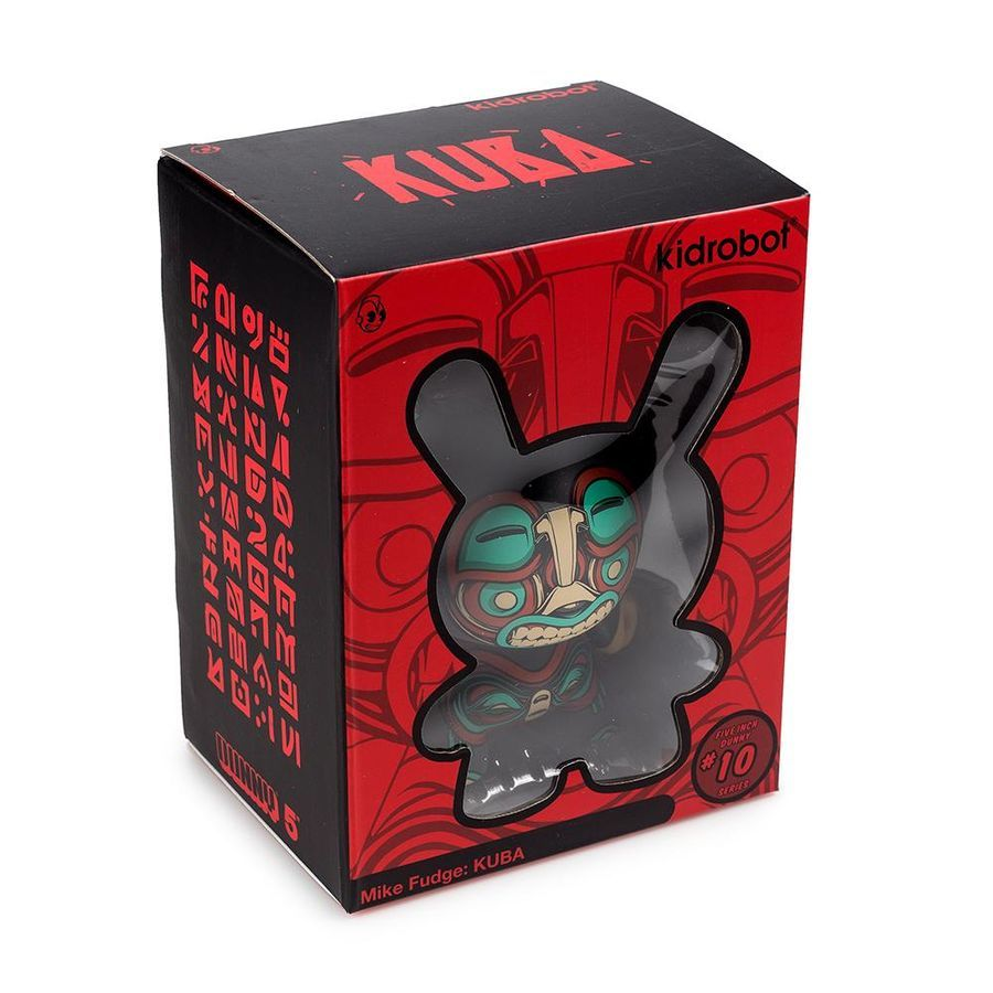 "Dunny - Kuba 5"" Dunny by Mike Fudge image"