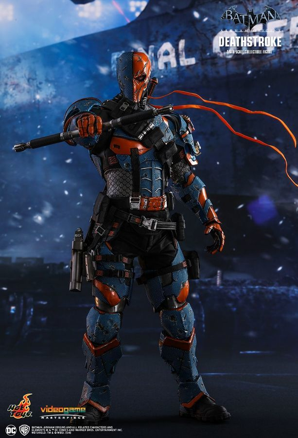 "Batman: Arkham Origins - Deathstroke 12"" Figure image"