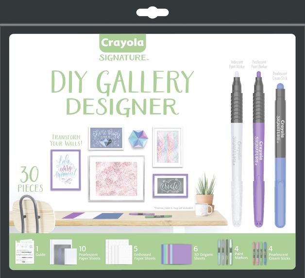 Crayola: Signature - DIY Gallery Designer