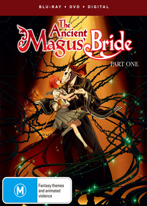 The Ancient Magus Bride - Part 1 on DVD, Blu-ray