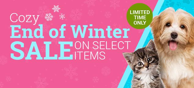 Cozy, End of Winter Sale