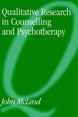 Qualitative Research in Counselling and Psychotherapy by John McLeod image