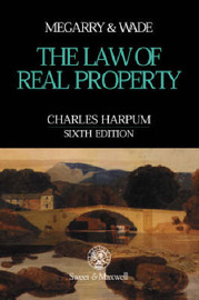Law of Real Property by Robert Megarry image