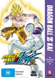 Dragon Ball Z Kai - Collection 4 on DVD
