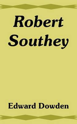 Robert Southey by Edward Dowden image