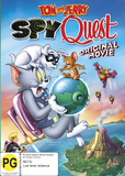 Tom And Jerry: Spy Quest on DVD