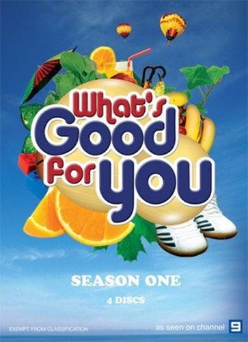 What's Good For You - Season 1 (4 Disc Set) on DVD image