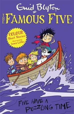Famous Five Colour Short Stories: Five Have a Puzzling Time by Enid Blyton image