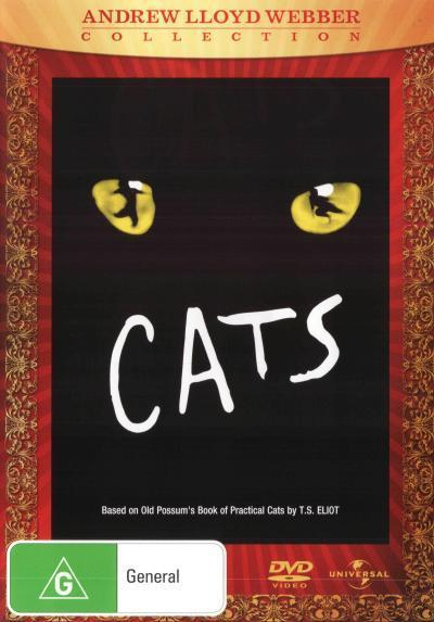 Cats - The Musical on DVD
