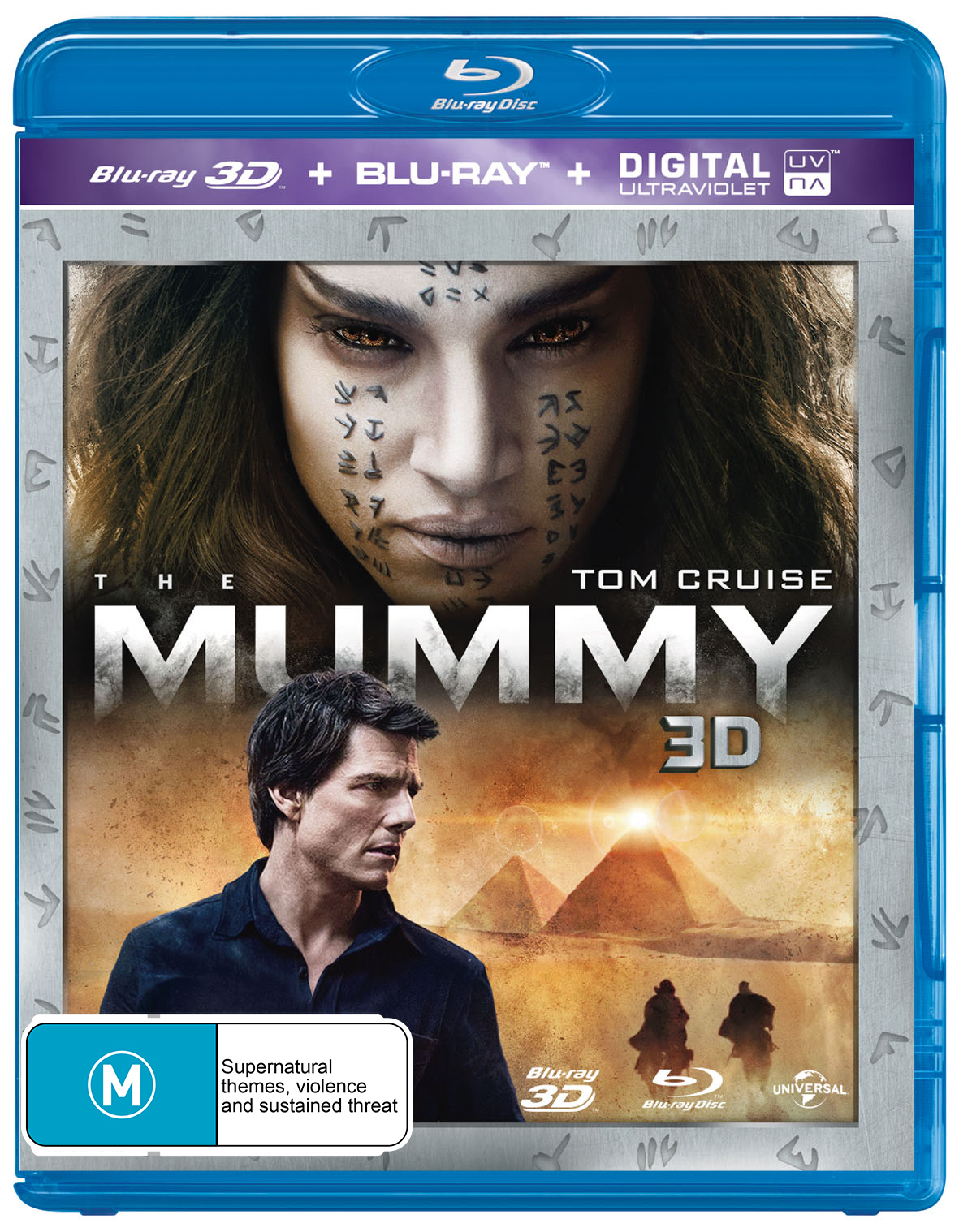 The Mummy (2 Disc Set) (2017) on Blu-ray, 3D Blu-ray image