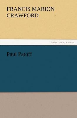 Paul Patoff by F.Marion Crawford image