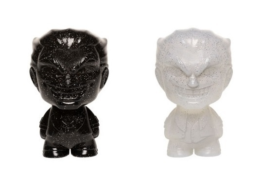 Joker (Black & White) - Hikari XS Vinyl Figure 2-Pack