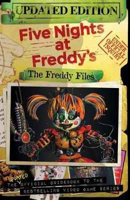 The Freddy Files: Updated Edition (Five Nights At Freddy's) by Scott Cawthon image