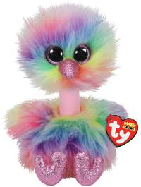 Ty Beanie Boo: Pastel Ostrich - Medium Plush image