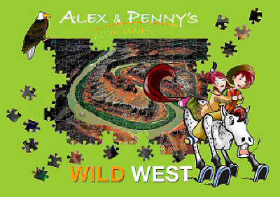 Alex and Penny in the Wild West Puzzle Book by Giada Francia image