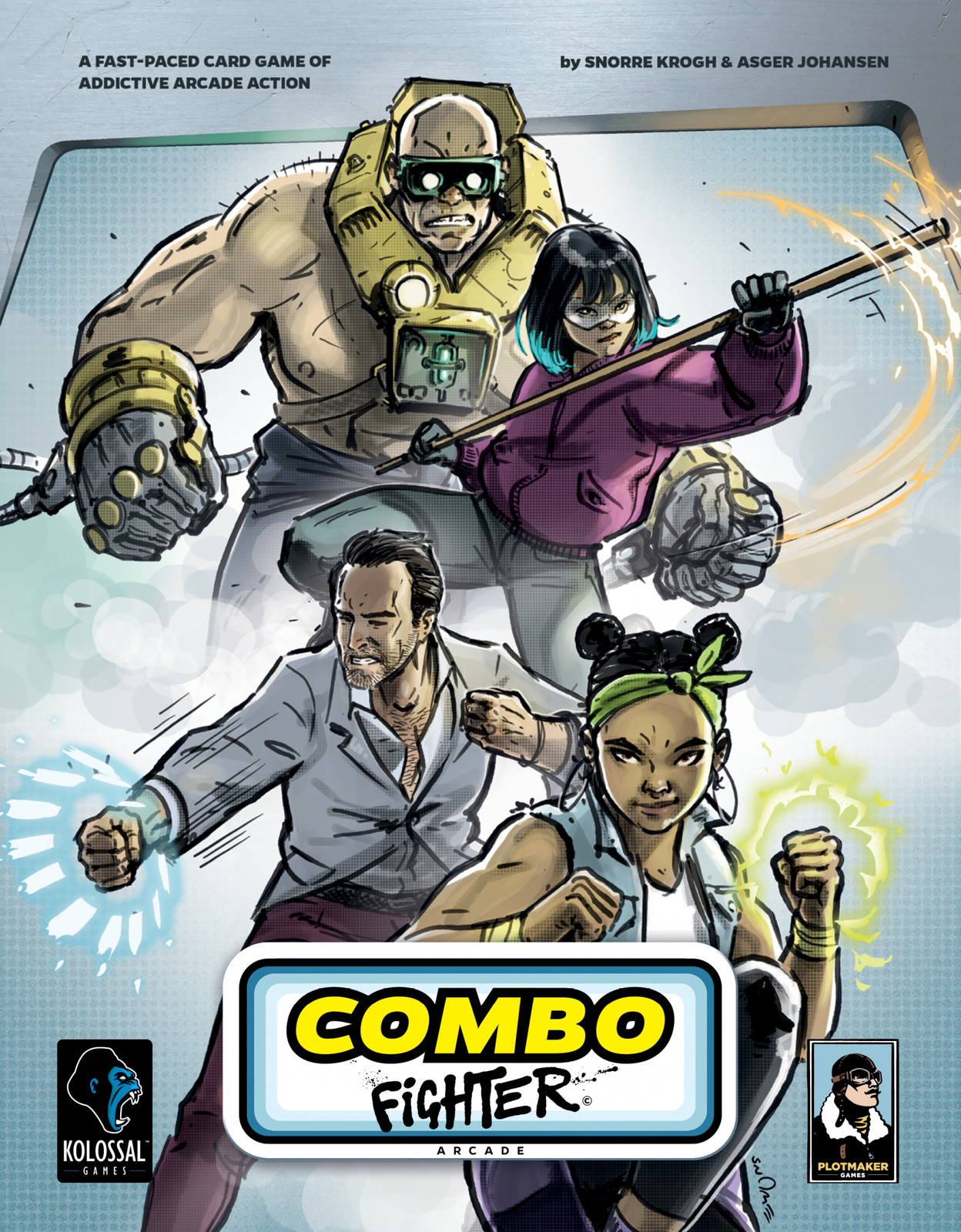 Combo Fighter - Card game image