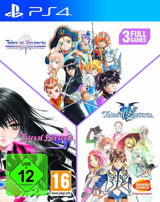 Tales of Vesperia + Tales of Berseria + Tales of Zestiria Compilation for PS4